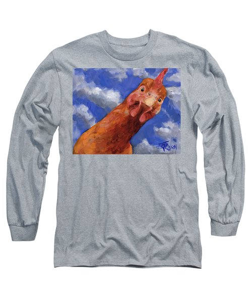 Is That The Colonel Long Sleeve T-Shirt by Billie Colson