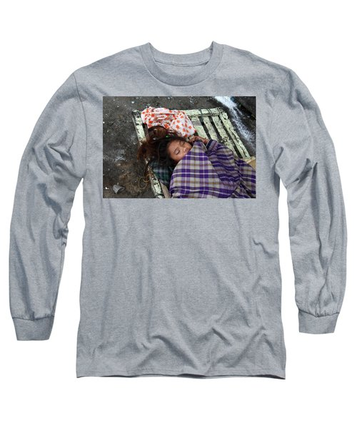 Is This My Life Long Sleeve T-Shirt by Jez C Self
