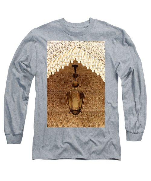 Islamic Plasterwork Long Sleeve T-Shirt