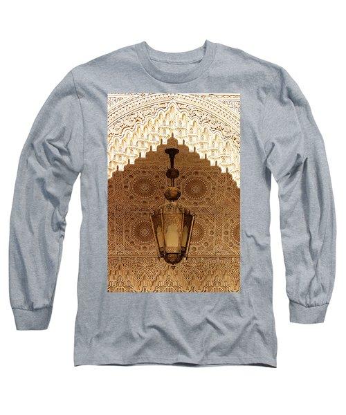 Islamic Plasterwork Long Sleeve T-Shirt