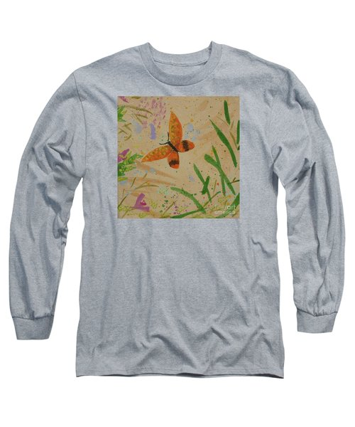 Island Butterfly Series 3 Of 6 Long Sleeve T-Shirt by Gail Kent