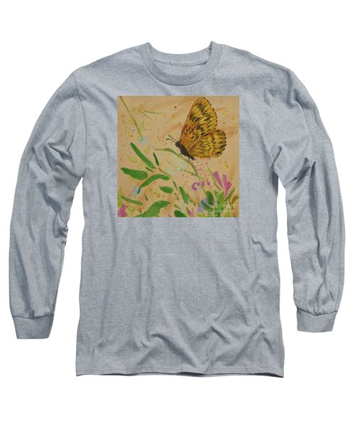 Island Butterfly Series 4 Of 6 Long Sleeve T-Shirt by Gail Kent