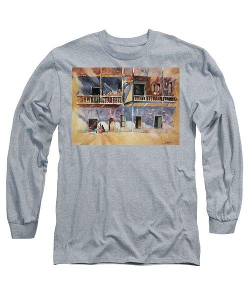 Island Community Long Sleeve T-Shirt by Al Brown