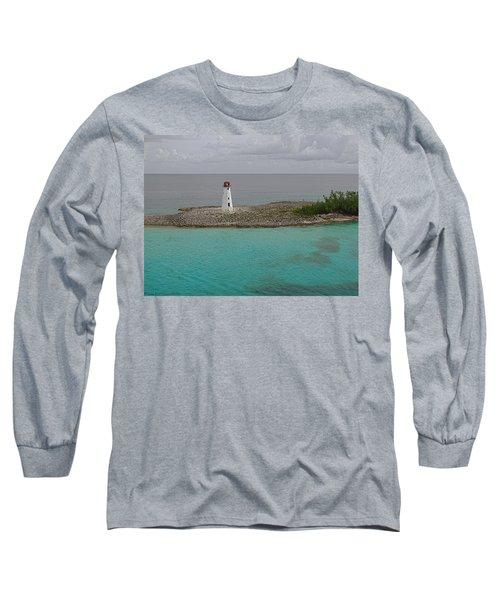 Island Lighthouse Long Sleeve T-Shirt
