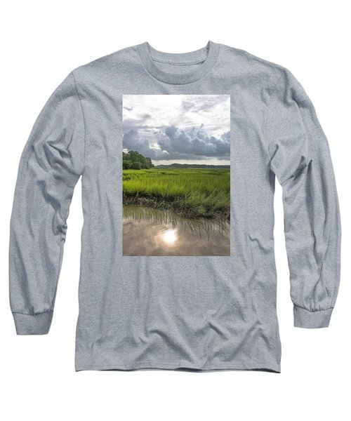 Long Sleeve T-Shirt featuring the photograph Island by Margaret Palmer