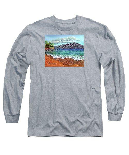 Island Time Long Sleeve T-Shirt by Debbie Chamberlin