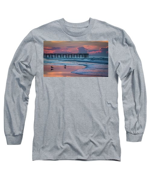 Isle Of Palms Morning Long Sleeve T-Shirt