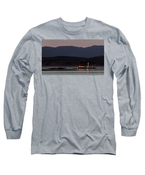 Isolated Lighthouse Long Sleeve T-Shirt