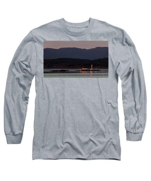 Isolated Lighthouse Long Sleeve T-Shirt