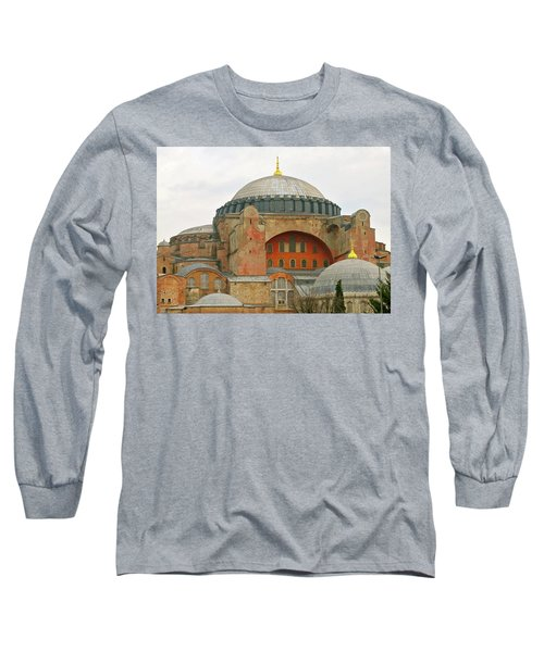 Long Sleeve T-Shirt featuring the photograph Istanbul Dome by Munir Alawi