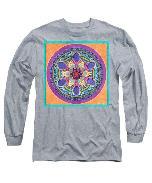 It Is Enough Mandala Prayer Long Sleeve T-Shirt