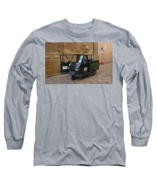 Italian Garbage Truck Long Sleeve T-Shirt