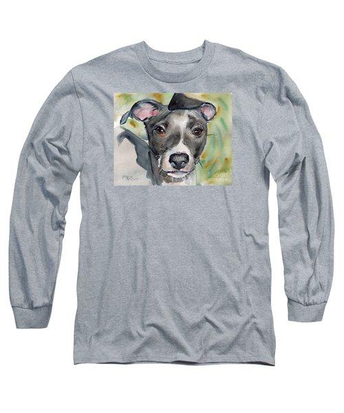 Italian Greyhound Watercolor Long Sleeve T-Shirt
