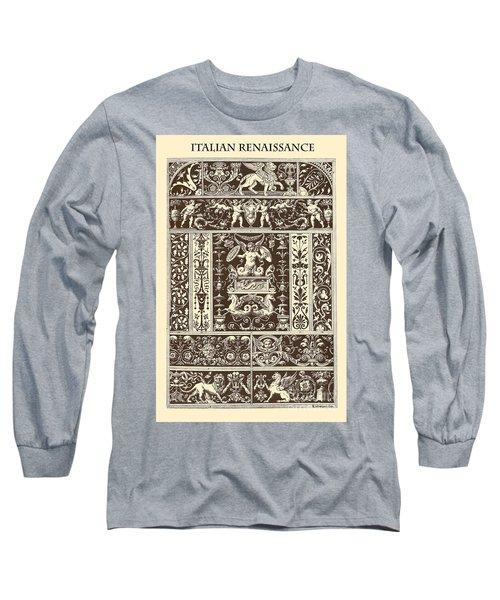 Italian Renaissance Long Sleeve T-Shirt by Italian School