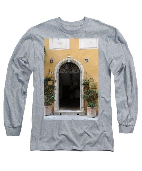 Italy - Door Thirteen Long Sleeve T-Shirt