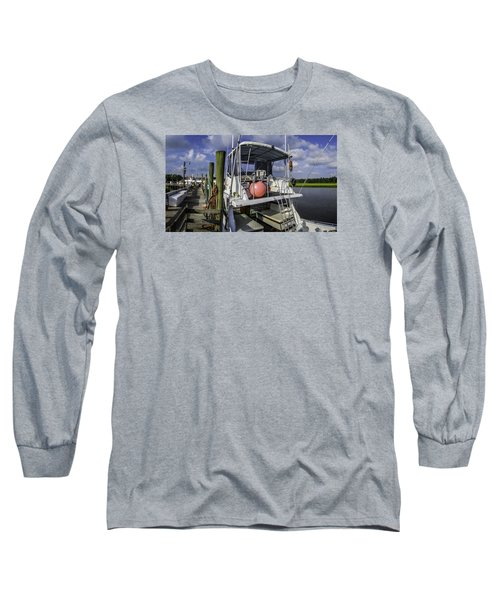 It's A Beautiful Day Long Sleeve T-Shirt by David Smith