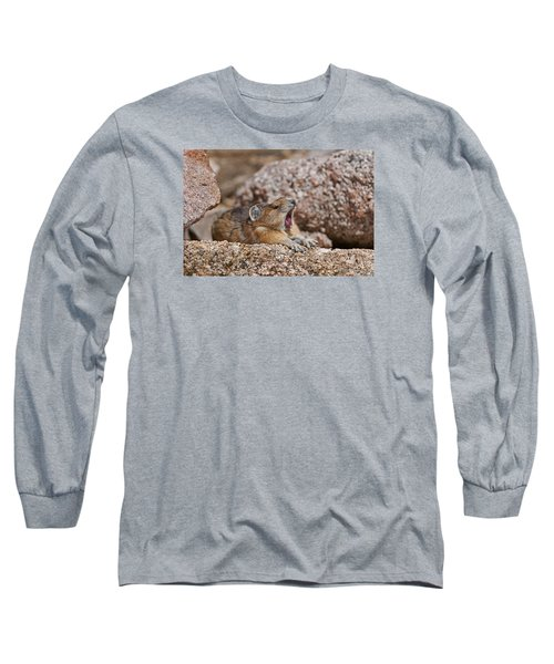 Long Sleeve T-Shirt featuring the photograph It's Been A Long Day by Gary Lengyel