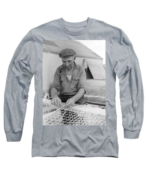 Long Sleeve T-Shirt featuring the photograph It's My Job by John Stephens