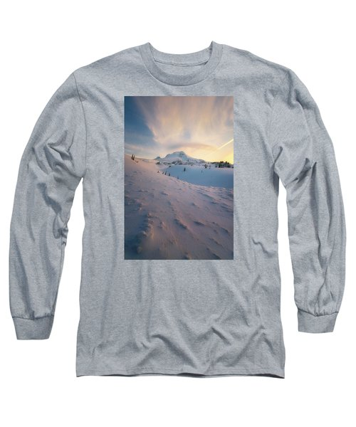 It's Not Spring Yet Long Sleeve T-Shirt by Ryan Manuel
