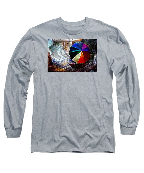 It's Raining Again Long Sleeve T-Shirt by Randi Grace Nilsberg