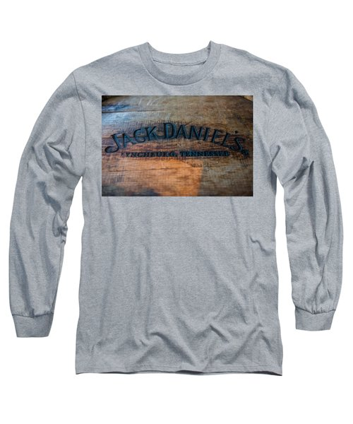 Jack Daniels Oak Barrel Long Sleeve T-Shirt