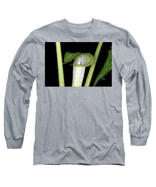 Long Sleeve T-Shirt featuring the photograph Jack In The Pulpit by Meta Gatschenberger