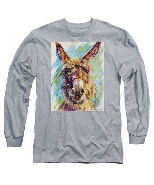 Long Sleeve T-Shirt featuring the painting Jack by P Maure Bausch