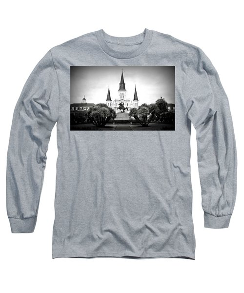 Jackson Square 2 Long Sleeve T-Shirt by Perry Webster