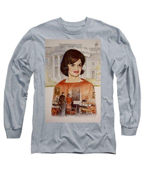 Jacqueline Kennedy Onassis  Long Sleeve T-Shirt