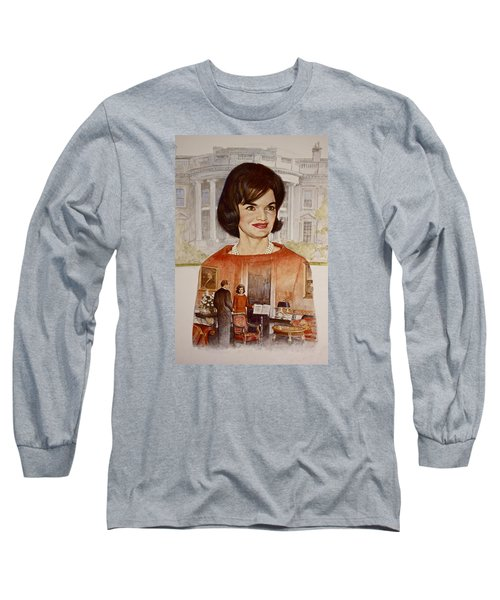 Jacqueline Kennedy Onassis  Long Sleeve T-Shirt