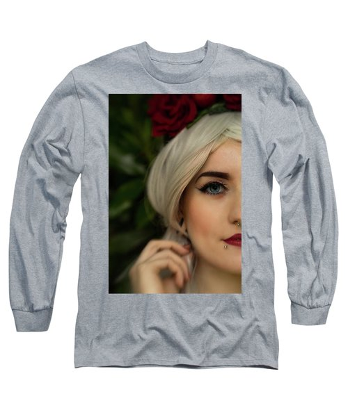 Jade Close Crop Long Sleeve T-Shirt