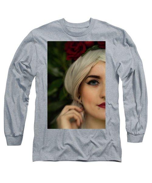 Jade Close Crop Long Sleeve T-Shirt
