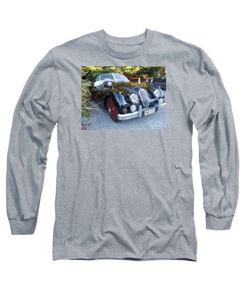 Jaguar140_ots Long Sleeve T-Shirt by Kathryn Barry