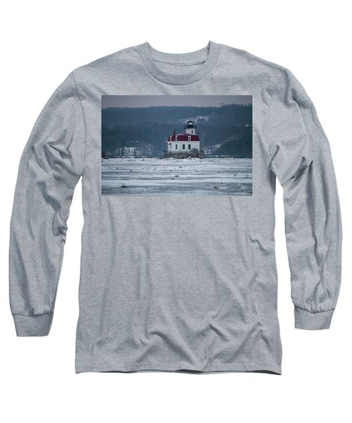 January Morning At Esopus Light Long Sleeve T-Shirt
