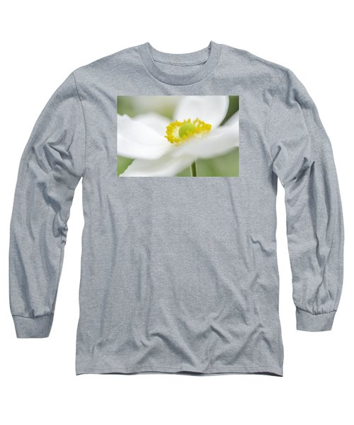 Japanese Anemone Long Sleeve T-Shirt by Mary Angelini