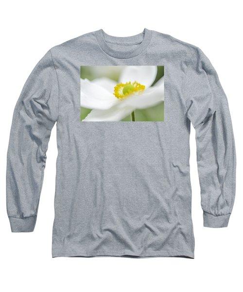 Japanese Anemone Long Sleeve T-Shirt