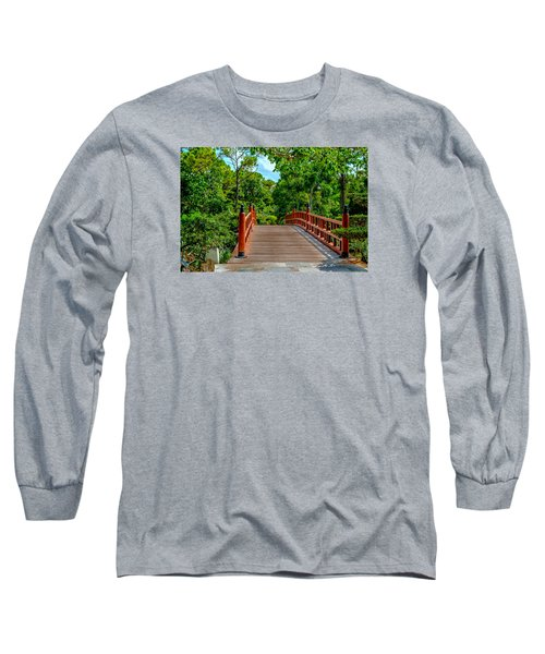 Japanese Bridge  Long Sleeve T-Shirt