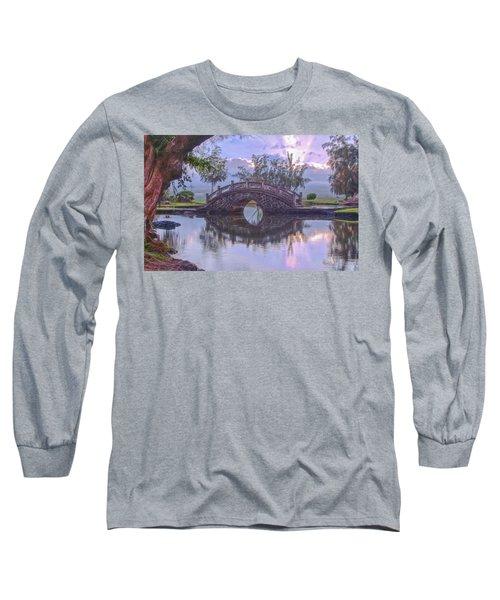 Japanese Footbridge Long Sleeve T-Shirt