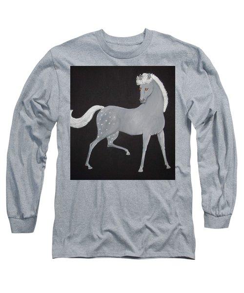 Japanese Horse 2 Long Sleeve T-Shirt
