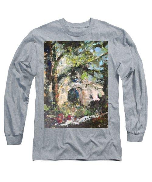 Jardin D'au Paradis  Long Sleeve T-Shirt by Robin Miller-Bookhout
