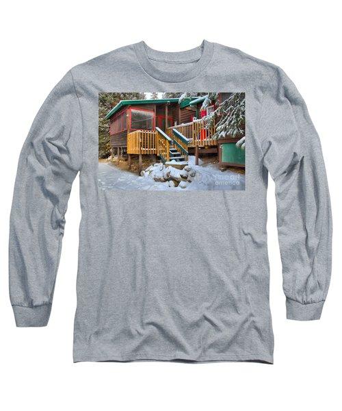 Jasper Beauty Creek Hostel Long Sleeve T-Shirt