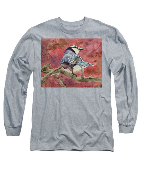 Jay In The Japanese Maple Long Sleeve T-Shirt