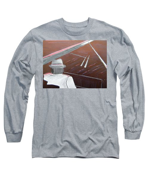 Jazz Pianist At The Brigantine Room Long Sleeve T-Shirt