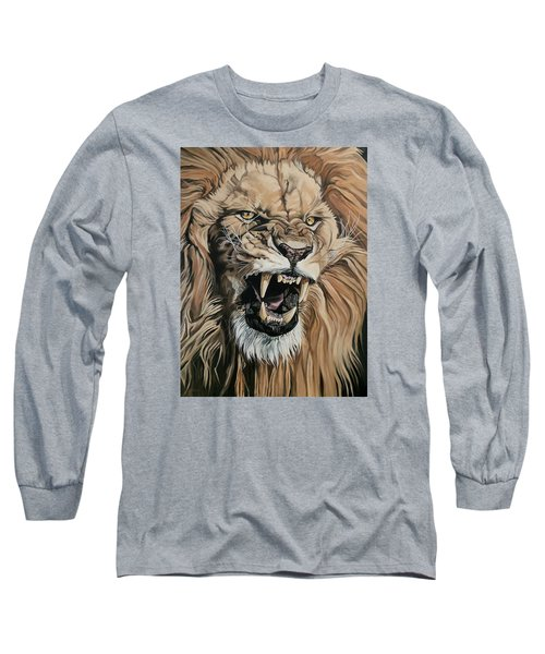 Jealous Roar Long Sleeve T-Shirt by Nathan Rhoads