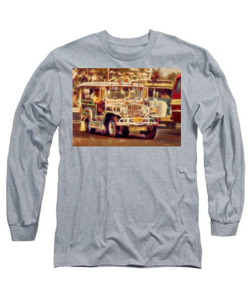 Jeepney Manila Long Sleeve T-Shirt