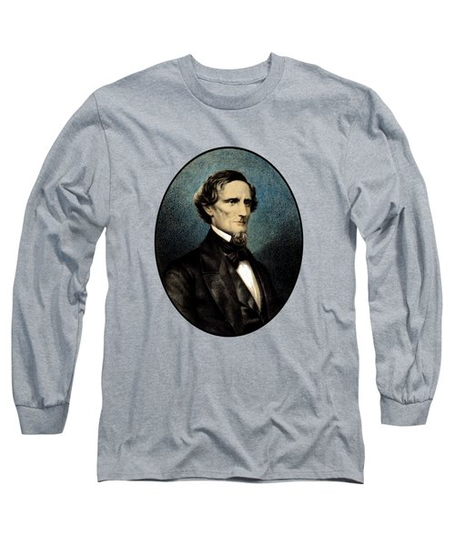 Jefferson Davis Long Sleeve T-Shirt