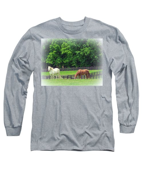 Jefferson Landing Series No. 5 Long Sleeve T-Shirt by Laura DAddona