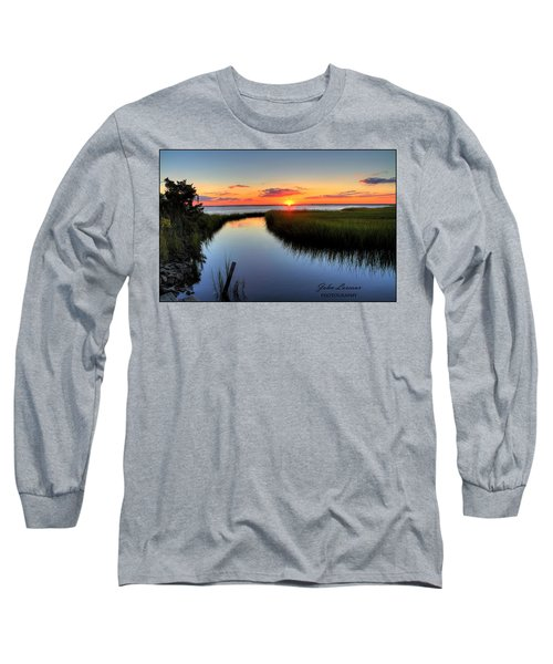 Jeffres Reflections Long Sleeve T-Shirt by John Loreaux