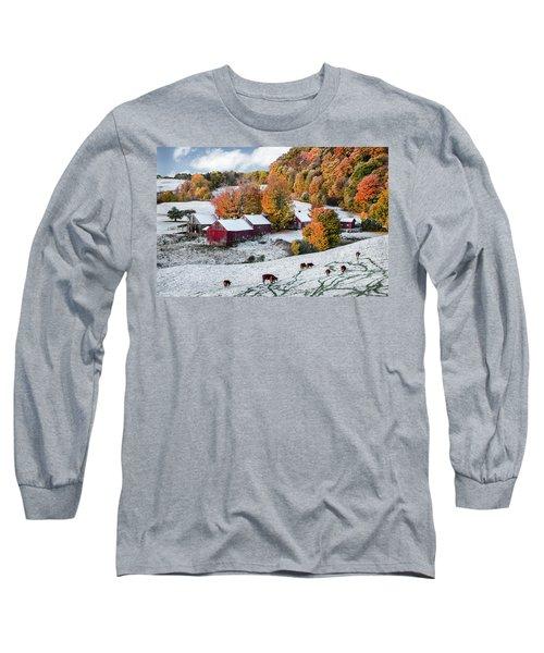 Jenne Farm, Reading, Vt Long Sleeve T-Shirt
