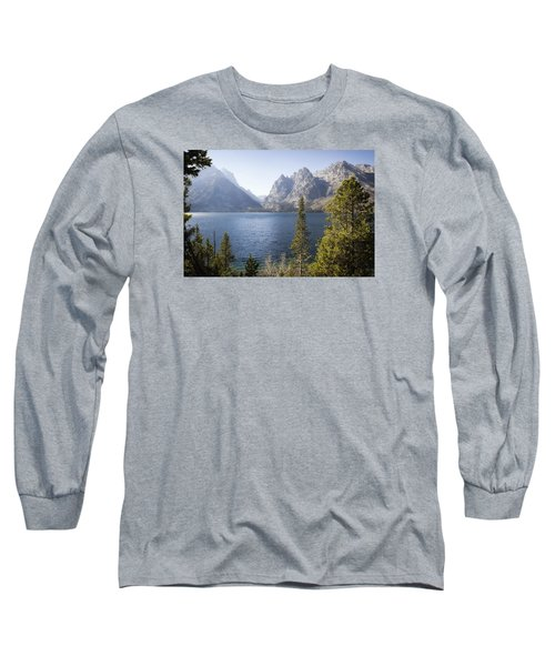 Jenny Lake Long Sleeve T-Shirt by Shirley Mitchell